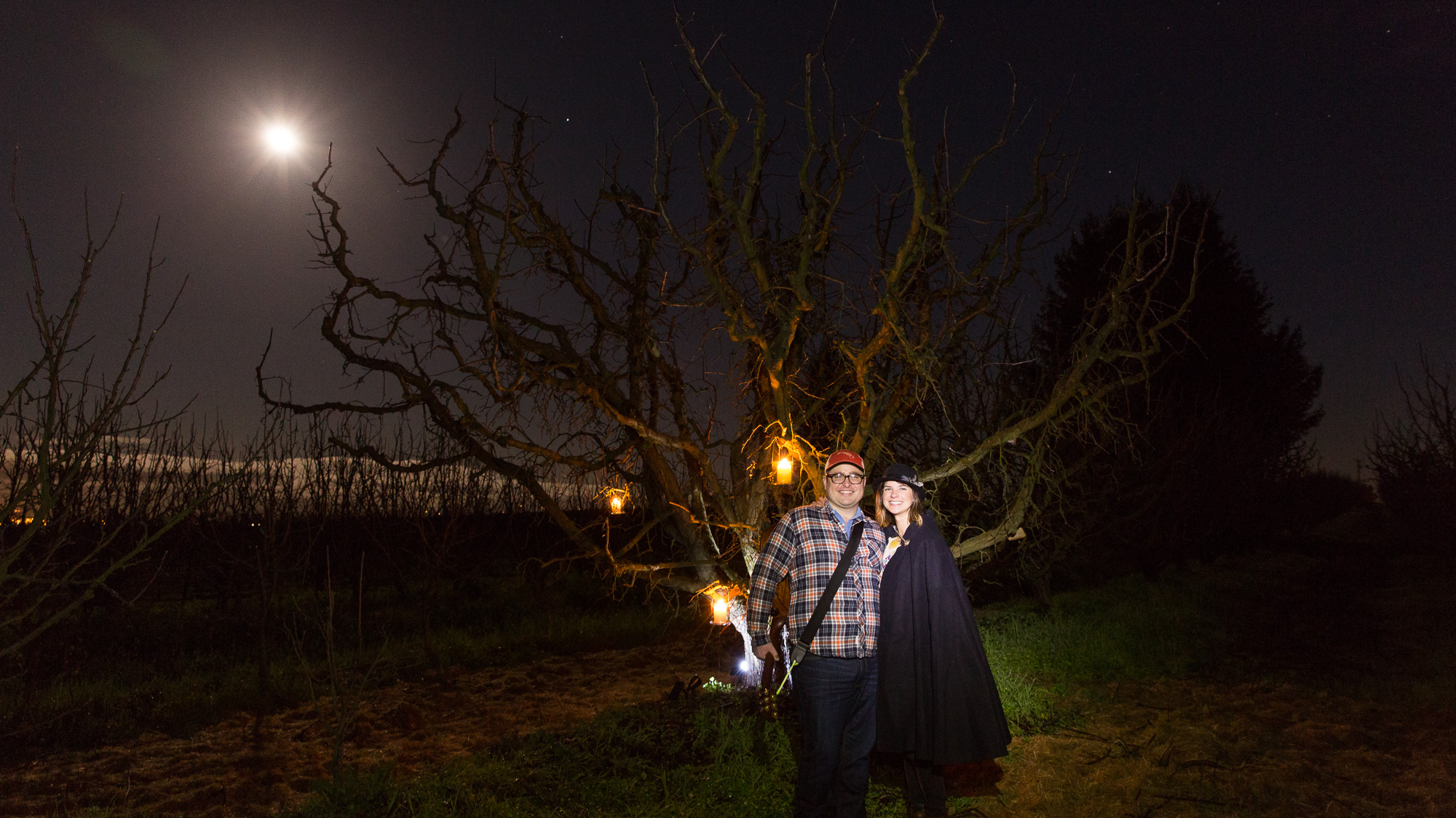 Photos of the Wassail at Devoto Orchards for Golden State Cider