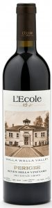 L'ECOLE NO. 41 PERIGEE STATE SEVEN HILL VINEYARD 2015