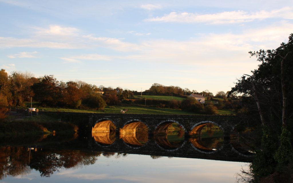 Ilen River Bridge, west Cork Ireland copy