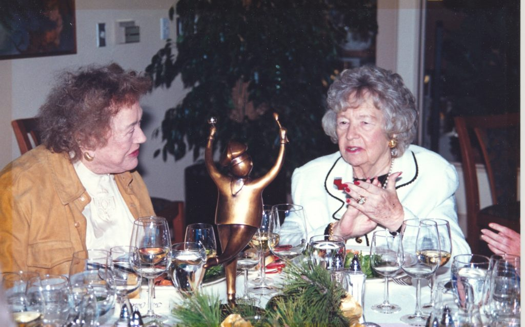 Catharine Niven and Julie Child