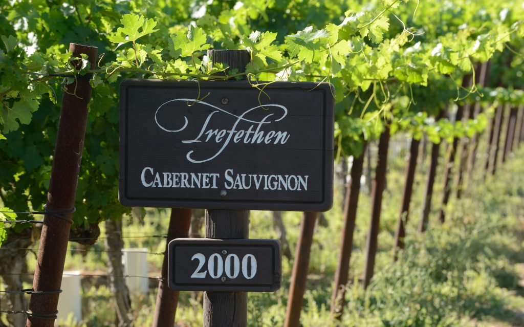 Trefethen - Cabernet Block planted in 2000