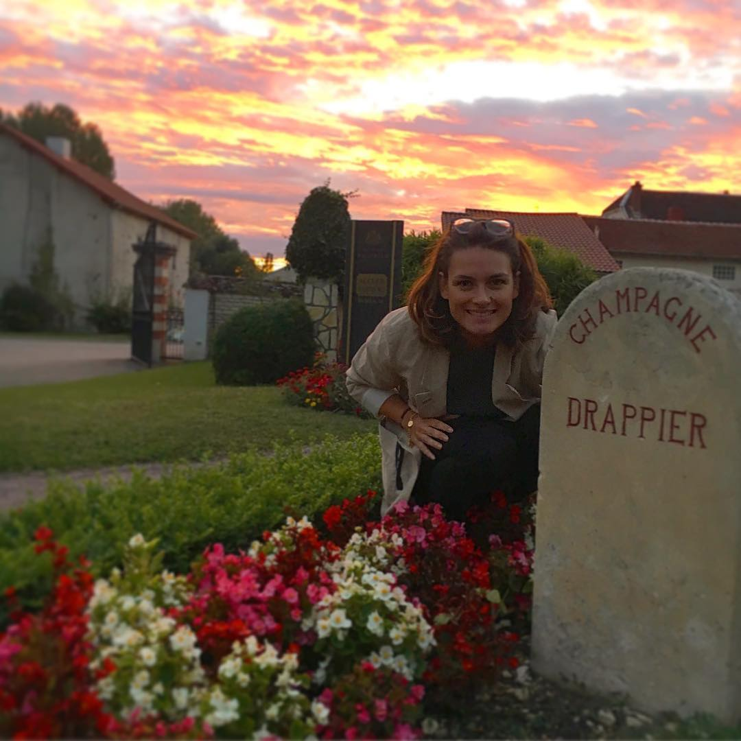 1.2 Charline Drappier with headstone