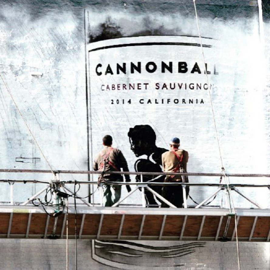 Cannonball wall art
