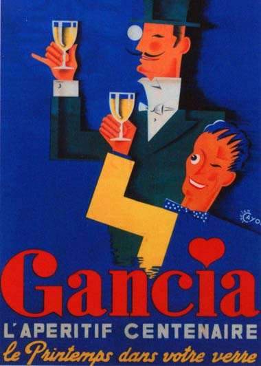 gancia prosecco throwback poster