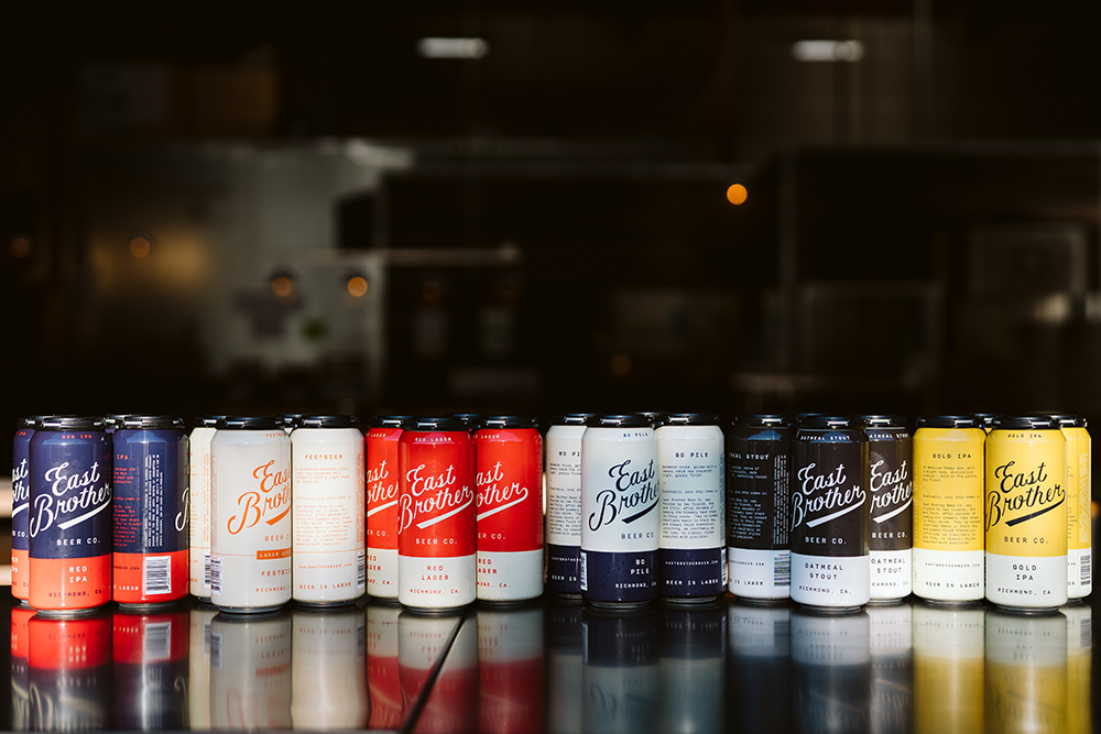 East Brother Beer Co. beers