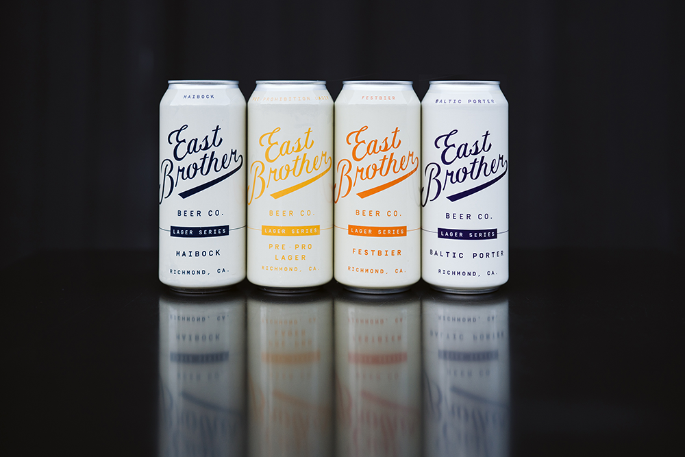 East Brother Beer Co. four seasonal offerings