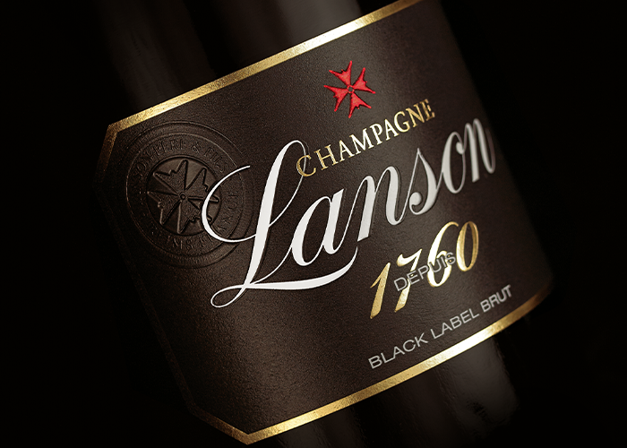Lanson Champagne Black Label