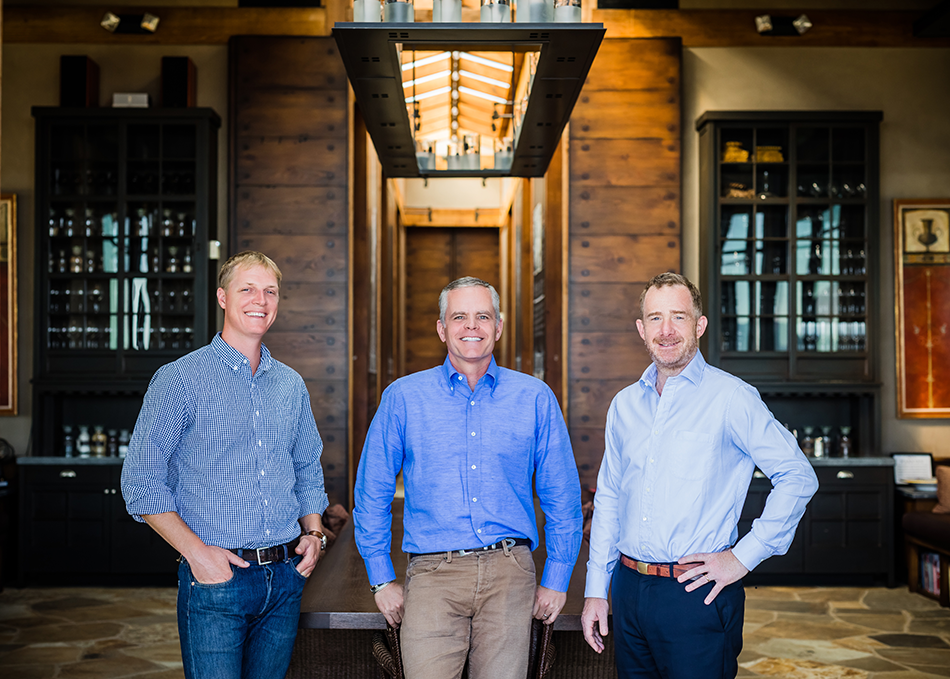OVID Wine: AustinPeterson, David Duncan and Jack Bittner
