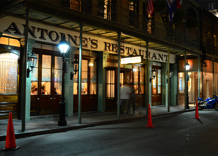 antoine restaurant in new orleans