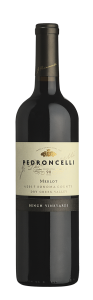Pedroncelli Merlot Bench Vineyards 2017