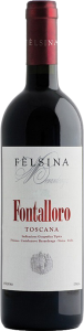 Felsina Fontalloro wine bottle