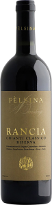 Felsina rancia wine bottle