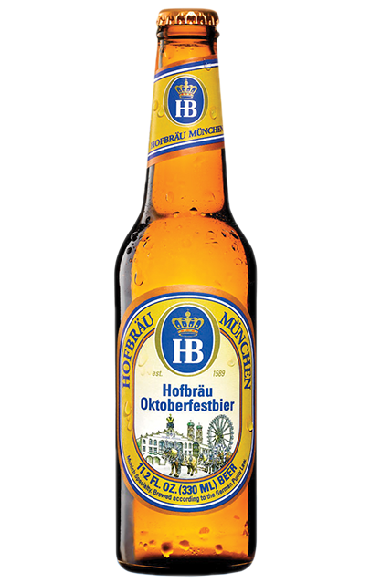 Hofbräu Oktoberfest beer is a full-bodied, bottom-fermented specialty beer. With its fine hoppy aroma, it's perfect alongside a classic Oktoberfest roasted chicken.