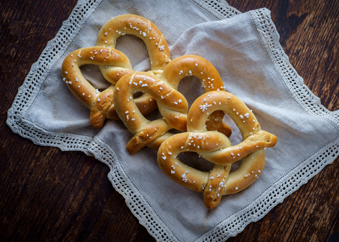 DIY pretzels for the win!