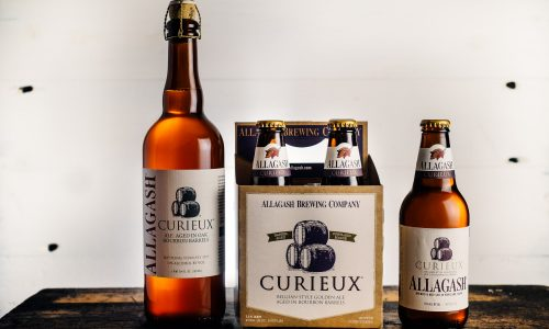 Allagash Curieux in 750ml and 12 oz bottles
