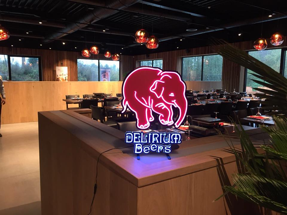 Delirium neon sign
