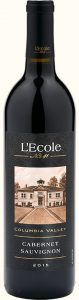 L'ECOLE NO 41 CABERNET SAUVIGNON COLUMBIA VALLEY 2015