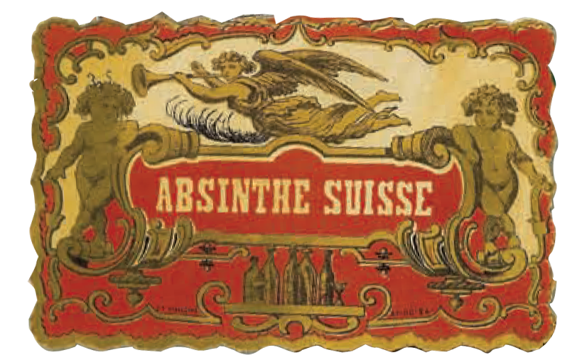 old absinthe label