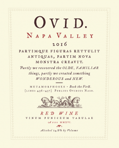 2016 Ovid Proprietary Red Front Label