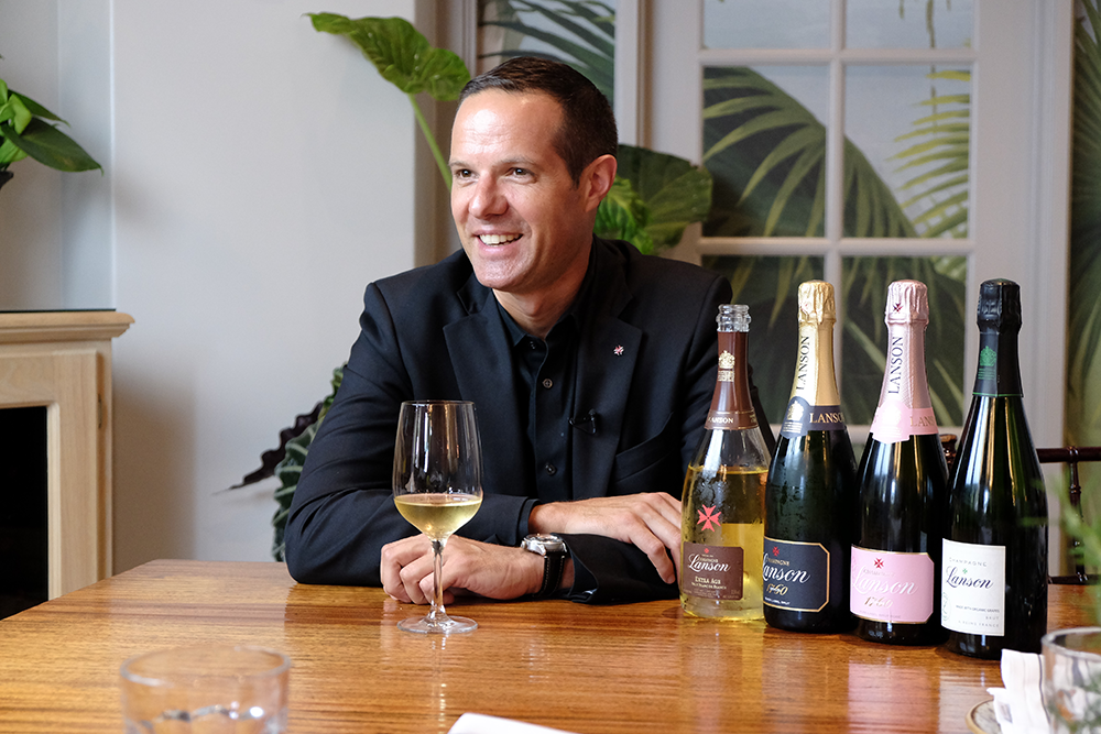Enguerrand Baijot of Champagne Lanson interview