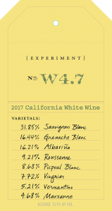 OVID Experiment W4.7 front label