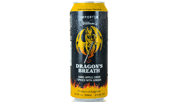 William's Orchards Dragon's Breath Ginger Apple Cider
