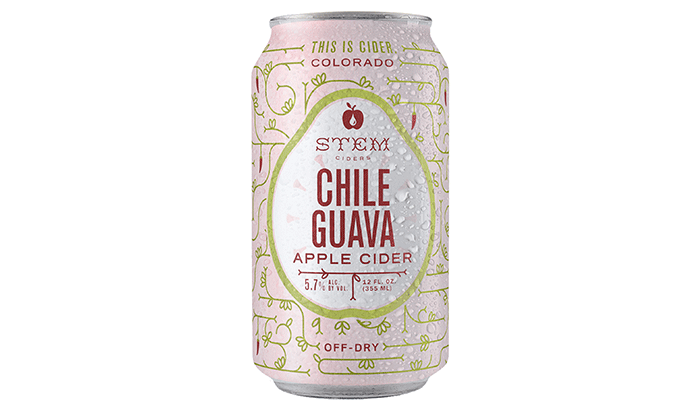 Stem Ciders Chile Guava Apple Cider