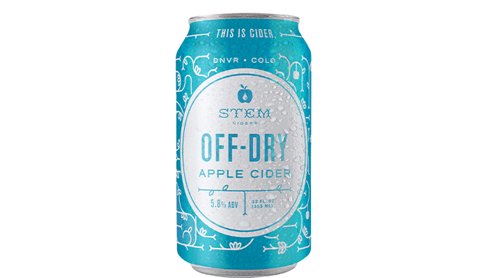 Stem Ciders Off-Dry Apple Cider