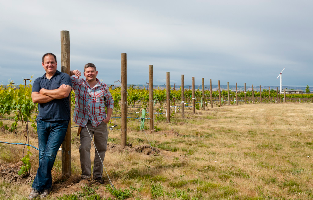 Dusted Valley owners: Corey Braunel and Chad Johnson