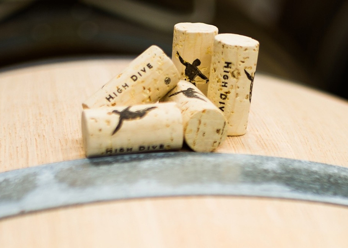 High Dive corks with barrel