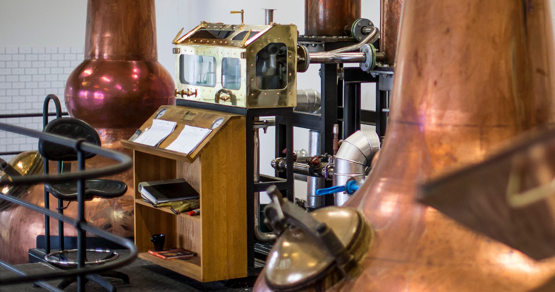 Interior of the Distillery. This is where the magic happens!