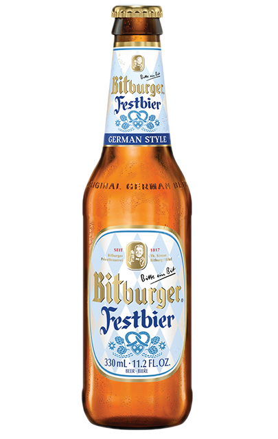 For the first time in the brewery's 202 year history, Bitburger will offer a seasonal German Style Festbier.