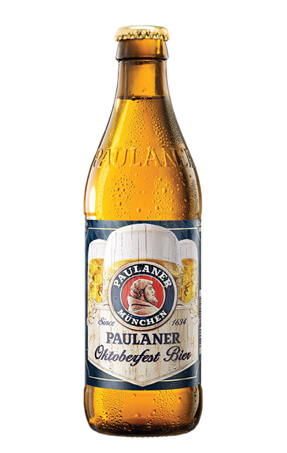 Paulaner has been brewing beers since 1634, beginning in a monastery. Every Paulaner beer is still brewed exclusively in Munich, strictly according to the Bavarian Beer Purity Law. Over the years since then they have expanded to become one of the historic and celebrated German breweries.
