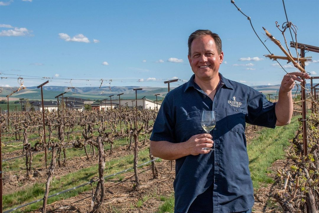Corey Braunel, Co-Owner & Winegrower, Dusted Valley & Boomtown